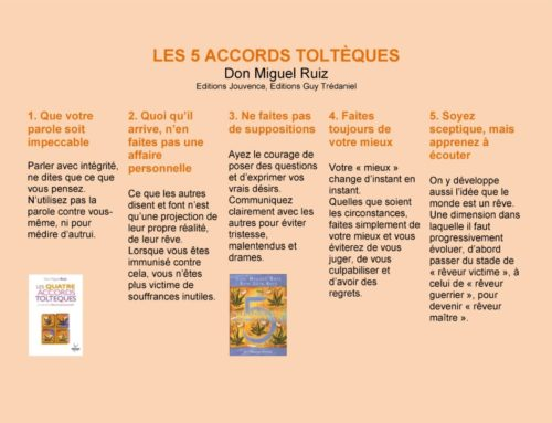 Les 5 accords Toltèques